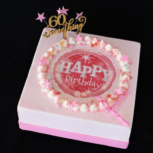 Celebrate - Happy Birthday - pink