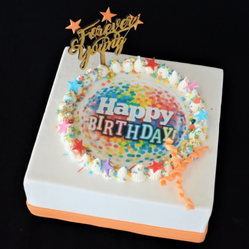 Celebrate - Happy Birthday - colors