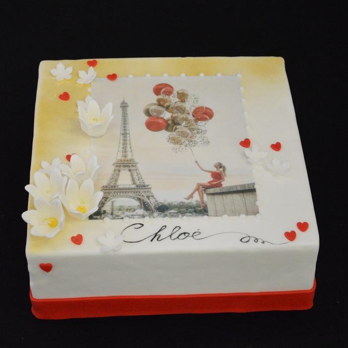 PARIS STYLE -met afbeeldingPARIS-style - Chloé (Fleurs)