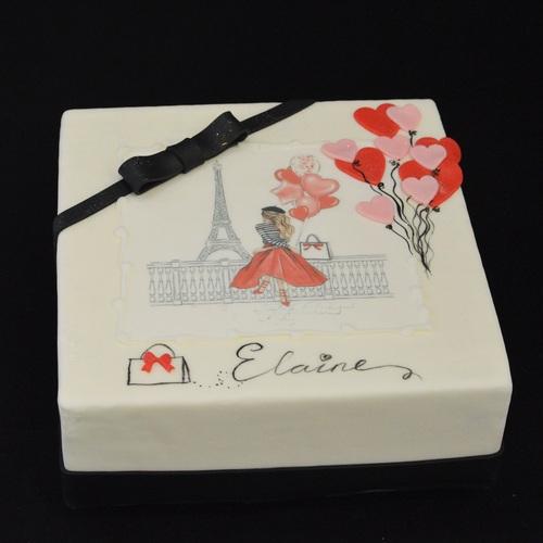 PARIS-style - Elaine (Coeurs)
