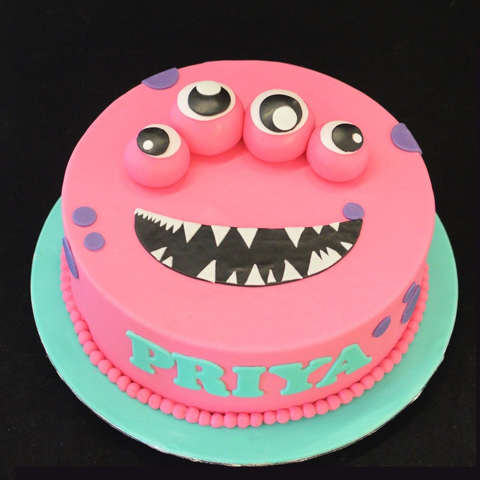 MonstersMonster taart (Priya)