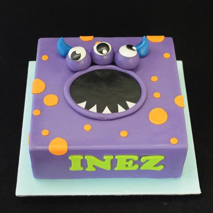 MonstersMonster taart (Inez)