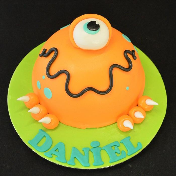MonstersMonster taart - vormtaart (Daniel)