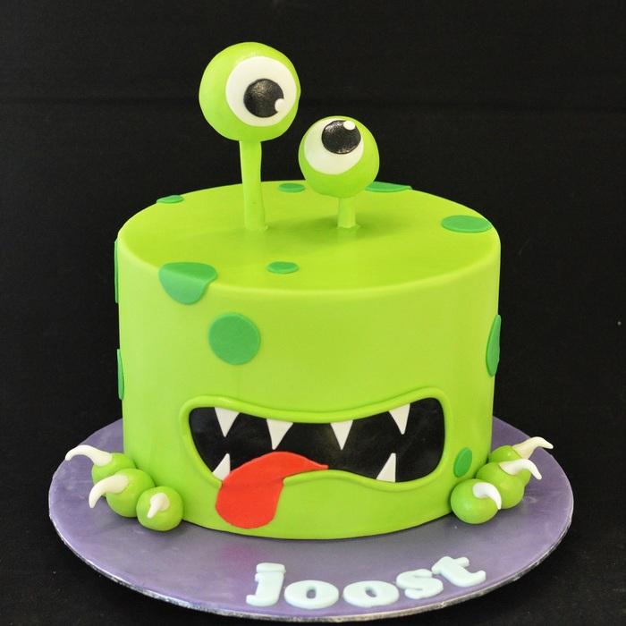 MonstersMonster taart - XL (Joost)