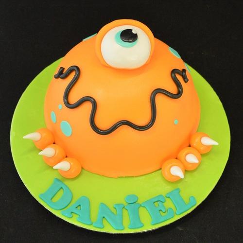 Monster taart - vormtaart (Daniel)